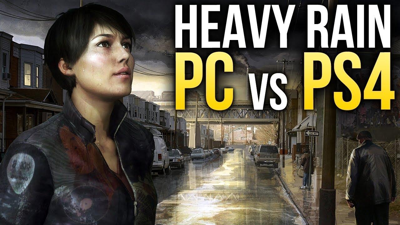 Heavy Rain – Сравниваем графику в версиях для PC и PS4