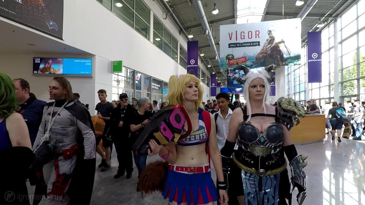 Косплей на gamescom 2019 — Лучшие образы с главной игровой выставки в Европе