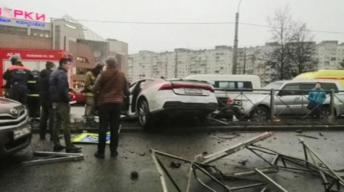 Алексей Долгов ДТП на Выборгском шоссе