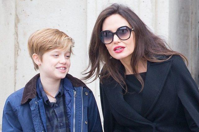 Дочь Анджелины Джоли и Брэда Питта Шайло