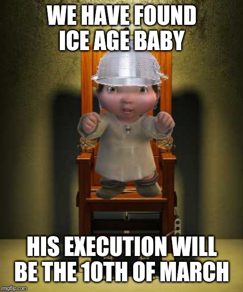 Ice Age Baby