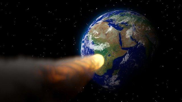 Опасный для Земли астероид