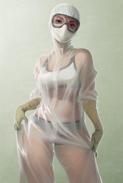 Медсестра из Тулы в купальнике