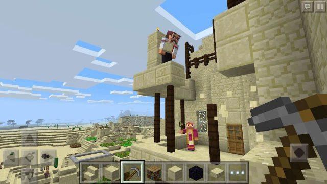 Minecraft на Android