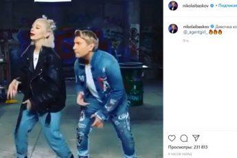 Ивлеева станцевала с Басковым