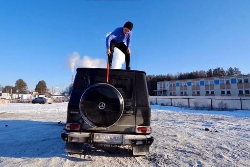 Андрей Ширгин - блогер разбил гелик