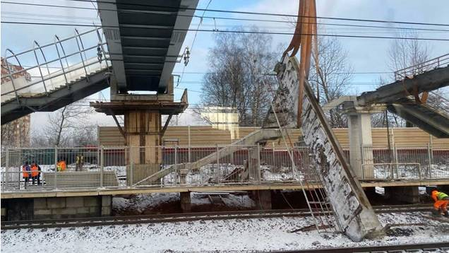 Обрушение моста Химки