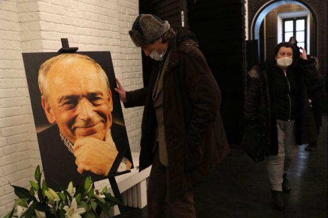 Похороны прощание Валентина Гафта