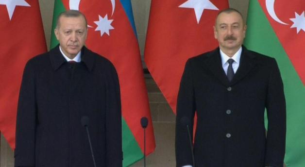 Речь Эрдогана на параде в Баку
