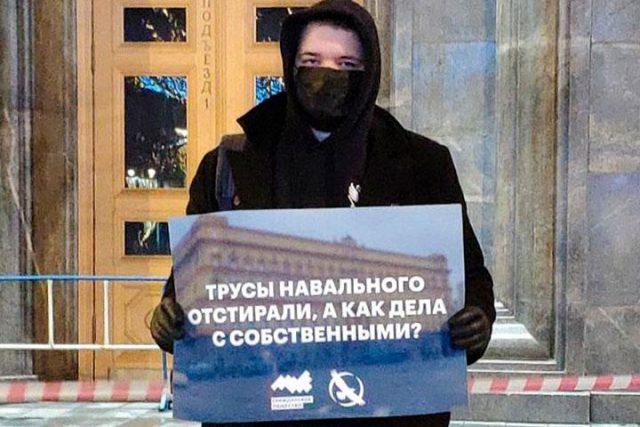 Трусы Навального - отстирали, а как дела с собственными
