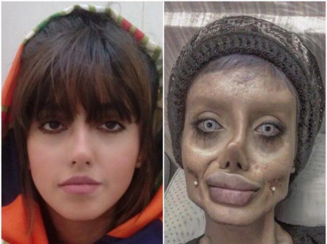 Сахар Табар - Фатима Хишванд - Иранская Анджелина Джоли